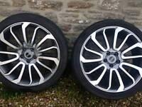"""22"""" turbine alloy wheel"""