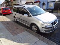 Volkswagen Touran 1.9 TDI S 5dr 2009 Manual (7 Seats) WITH PCO BADGE READY FOR PCO