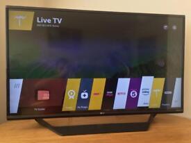 """LG 43UF770V 43"""" 4K Ultra HD Smart WebOS TV"""