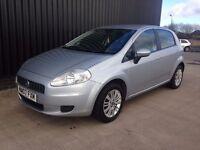 2007 Fiat Grande Punto 1.2 Dynamic 5dr 2 Keys, 12 Months MOT Great Spec May Px