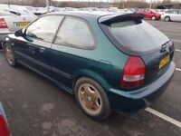 HONDA CIVIC 1.4 AUTOMATIC ( ANY OLD CAR PX WELCOME )