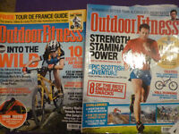 Outdoor Fitness magazines - job lot - 49 magazines