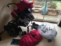 Icandy Apple to pear pushchair/travel system