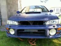 Impreza turbo bumpers