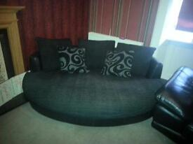 3 seater cuddler/sofa