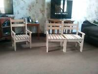 Childs double chair