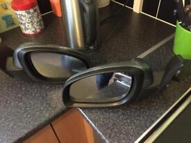 Pair of electric mirrors vectra c paint Z163