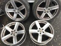 Vauxhall Holden Alloys Astra Vectra 5x110 concaved 18 inch