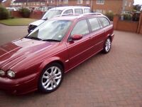 Jaguar x type estate 2.0 ltr diesel 2005 m.o.t good condition.
