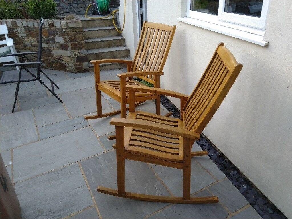A Pair of Garden Rocking Chairs. | in Plymouth, Devon | Gumtree