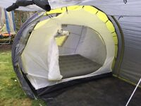4/5 man tube tent (6 could fit)