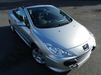 PEUGEOT 307 CC SE 2.0 HDI 2005 CONVERTIBLE - NEW FLYWHEEL CLUTCH 12 MONTHS MOT -SERVICE HISTORY