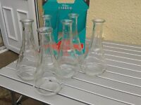 4 glass wine carafes