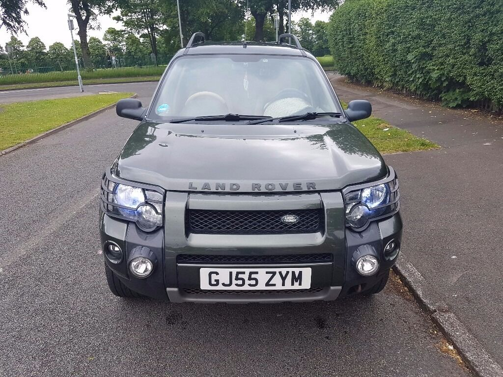 land rover freelander 1 hse td4 bmw engine 55 reg in. Black Bedroom Furniture Sets. Home Design Ideas