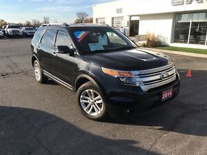 2014 Ford Explorer XLT, Leather, Navigation !! Windsor Region Ontario image 3