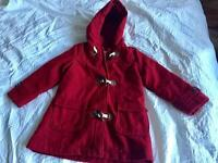 Girls coat and jumpers aged 4-6yrs