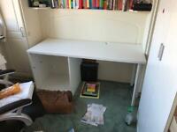 IKEA white office/study desk