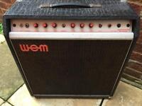 WEM Dominator Bass. Vintage Tube Amplifier