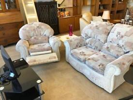 Fabric recliner suite
