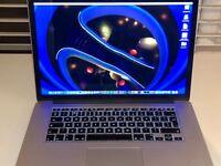 """Macbook Pro 15"""" Retina, i7 2.6ghz, 500 SSD, 16gb RAM"""