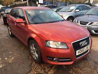 Audi A3 2.0 TDI SE Sportback 5dr£6,695 p/x welcome FREE WARRANTY, HPI CLEAR