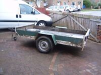 TRAILER ALLOY CHASSIS 8X4