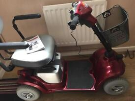 zeo plus Mobility scooter 4 Wheeled Version
