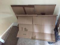 3 Big Storage / Moving Cardboard Boxes