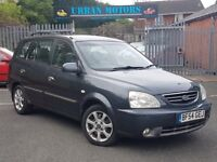 54 REG KIA CARENS 1.8 AUTOMATIC VERY LOW MILES 60K ONLY PX-WELCOME