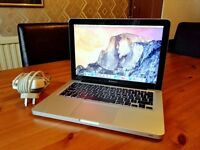 APPLE MACBOOK PRO 13 INCH I5 HIGH END LAPTOP + SSD + OFFICE + ACESSORIES