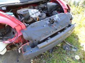 VW BEETLE BUMPER REINFORMENT, 2000-05
