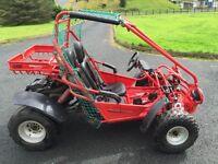 Hammerhead buggy (off road 4x4 van quad tractor
