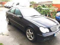 2001 Mercedes C320 Elegance Auto
