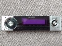 Kenwood KDC-W707 MP3/CD car stereo receiver - motorised flip-front