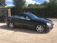 2007 Mercedes CLK CDi Sport AMG Auto Turbo Diesel Coupe, 107,000 Miles, History, Warranty