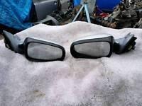Saab both wing mirror