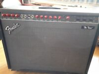 Fender Amplifier - The Twin 'Evil Twin' 100W Reverb. 1980's red knob model