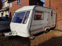 Coachman 2 berth caravan with extras
