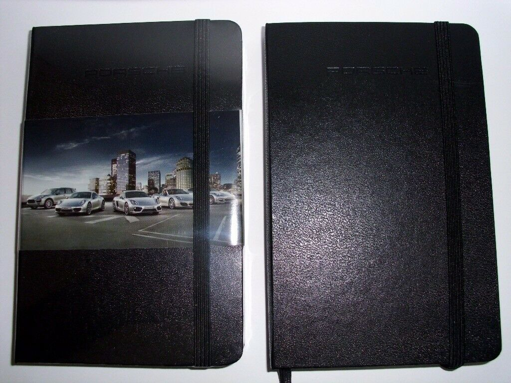 Porsche NEW LINED HARDBACK NOTEPAD NOTEBOOK NOTE BOOK NOTES JOURNAL DIARY