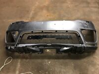 RANGE ROVER SPORT SVR FRONT BUMPER WITH GRILL & DIFFUSER P/N: JK6M-17F003-A (2018-2020)