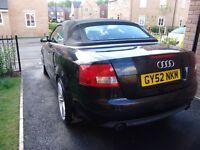 Audi a4 convertible automatic