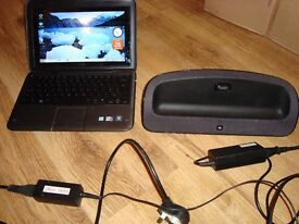 Dell Inspiron Duo Pc And Combined Tablet Touch Screen Netbook & JBL Speaker Dock