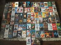 Large Selection of VHS videos.