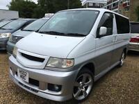 Mazda Bongo 2.5 V6 *LPG CONVERSION AVAILABLE* (white over silver) 2002