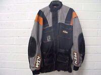 KTM vented enduro motocycle jacket XXXL