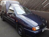 VW Caddy sdi van, mot'd until Oct 18