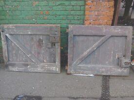 set of stable doors