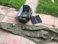 3up 3 down holdall, tackle bag and rig wallet