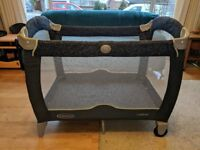 Graco Contour Baby / Toddler Travel Cot - £15