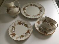 VINTAGE JAMES KENT OLD FOLEY FINE BONE CHINA TEA SET